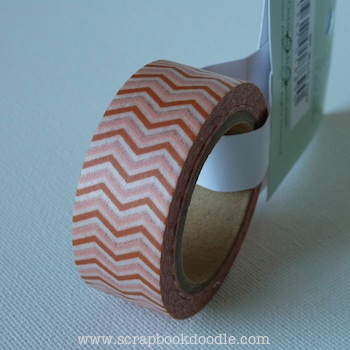 October Afternoon: Woodland Park - Washi Tape Chevron (S/O)