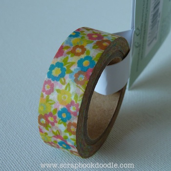 October Afternoon: Woodland Park - Washi Tape Floral (S/O)