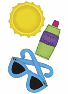 Paper Bliss: Sunny Day - Dimensional Stickers - S/O