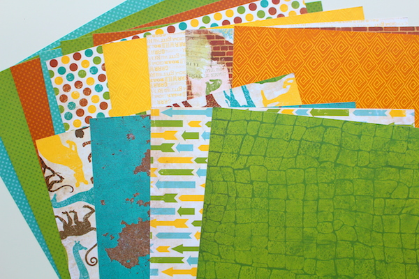 Patterned Papers - Double-sided
