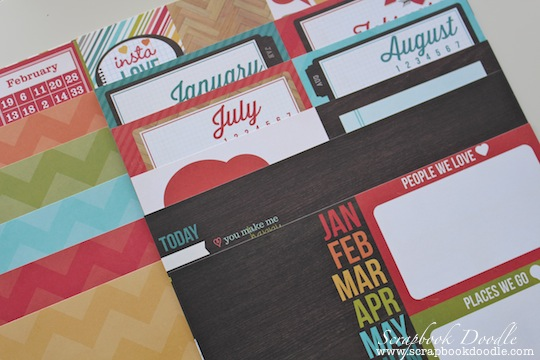 Patterned Papers Double-sided