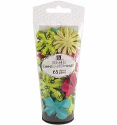 Prima: Petal Palette Mulberry Paper Flowers - Assorted #1