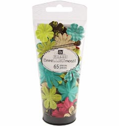 Prima: Petal Palette Mulberry Paper Flowers - Assorted #2