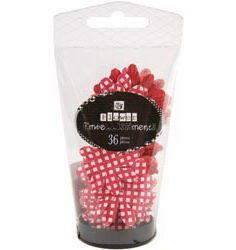 Prima: Petal Palette Mulberry Paper Flowers - Red (E)
