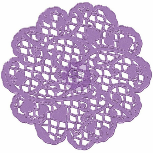 Prima - Purple Metal Die - Doily #3 Scallop - 572808 (E)