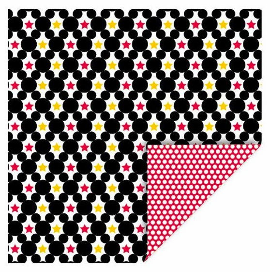 Queen & Co - Magic - 12x12 Double Sided Paper - Circle Stars - S/O