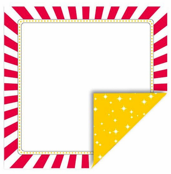 Queen & Co - Magic - 12x12 Double Sided Paper - Photo Frame - S/O