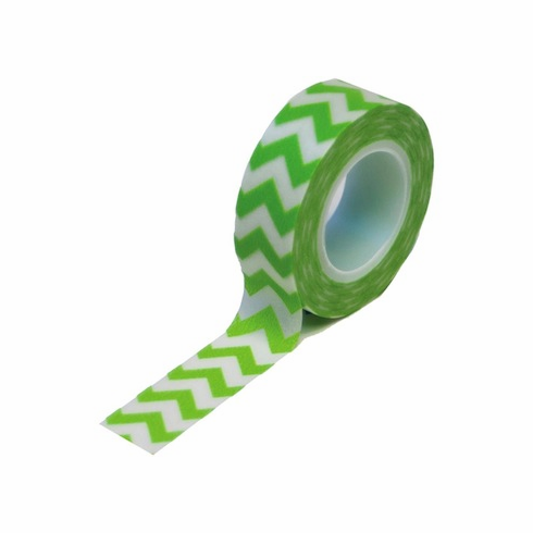 Queen & Co - Trendy Tape - Chevron Green