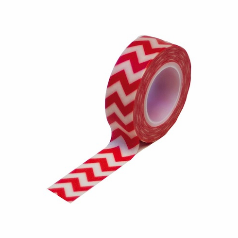 Queen & Co - Trendy Tape - Chevron Red