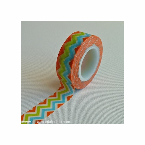 Queen & Co - Trendy Tape - Zig Zag Summer