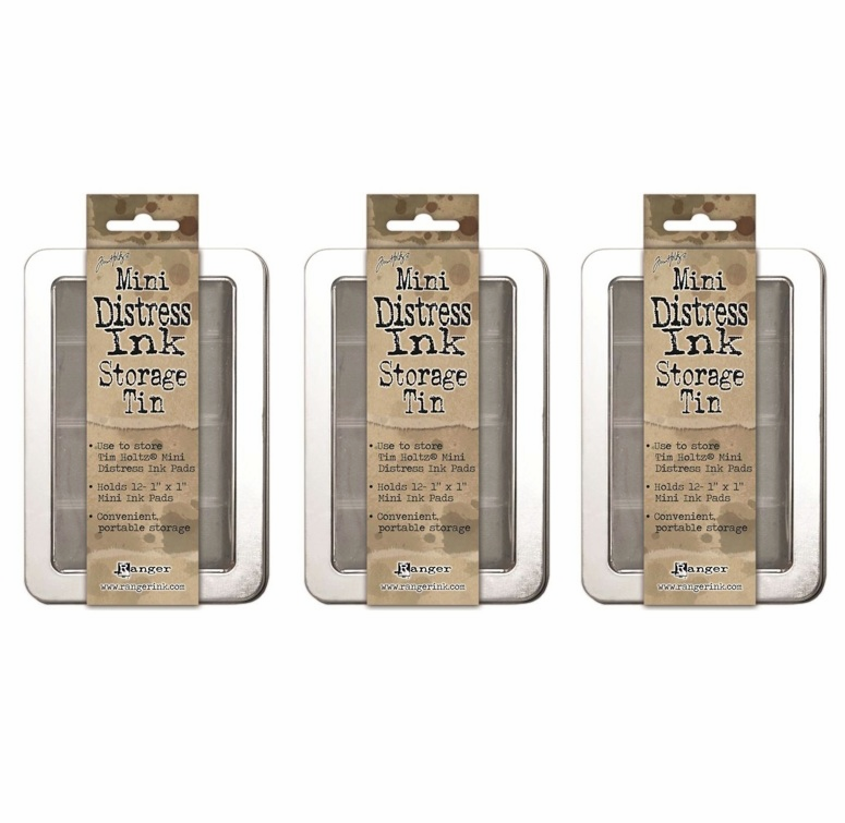 Ranger - Tim Holtz - Mini Distress Storage Tin - Set of 3 (S/O)