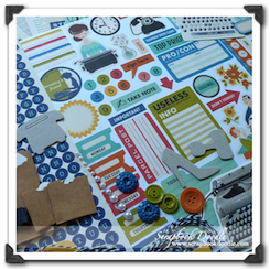 Scrapbook Kit - 9 to 5 - SOLD OUT