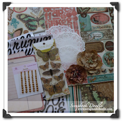 Scrapbook Kit - Butterfly Kisses - SOLD OUT