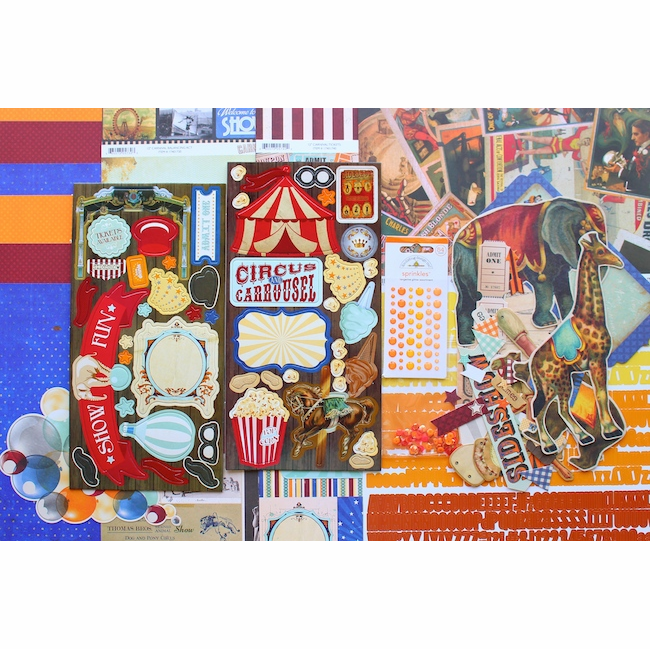 Scrapbook Kit - Carnival - SOLD OUT