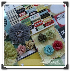 Scrapbook Kit - For The Record - SOLD OUT