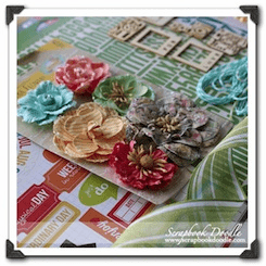 Scrapbook Kit - Happy Little Moments