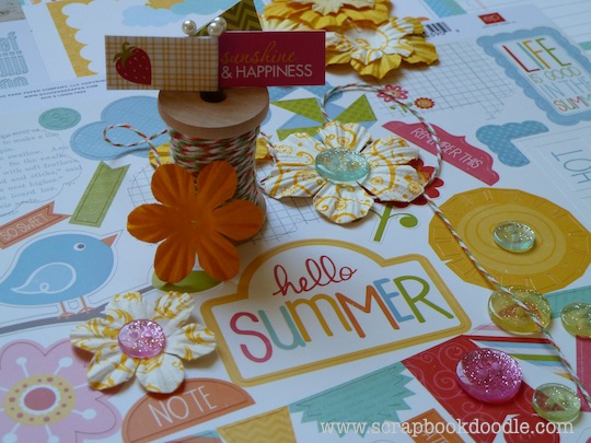 Scrapbook Kit - Hello Summer (S/O)