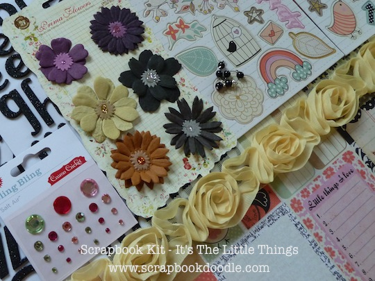Scrapbook Kit - It's The Little Things (S/O)