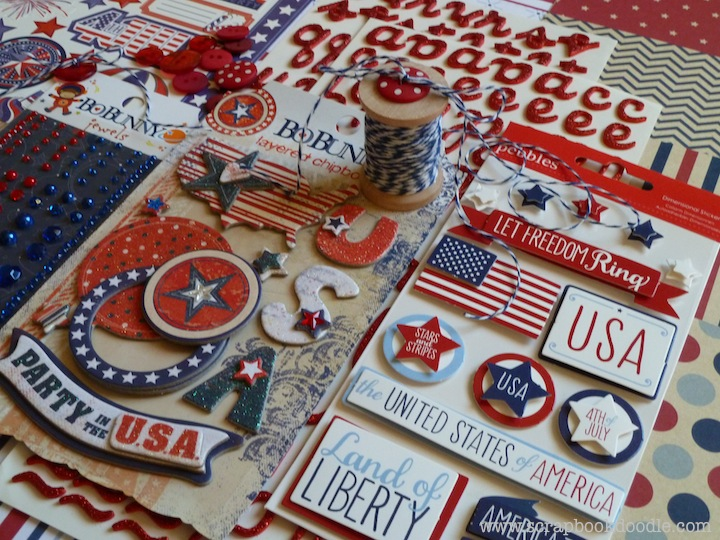 Scrapbook Kit - Let Freedom Ring (S/O)