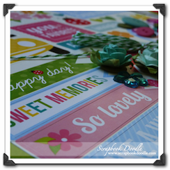 Scrapbook Kit - Sweet Memories - SOLD OUT
