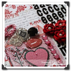 Scrapbook Kit - True Love