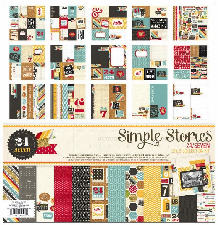 Simple Stories - 24/7 - Collection Kit 12x12 (S/O)