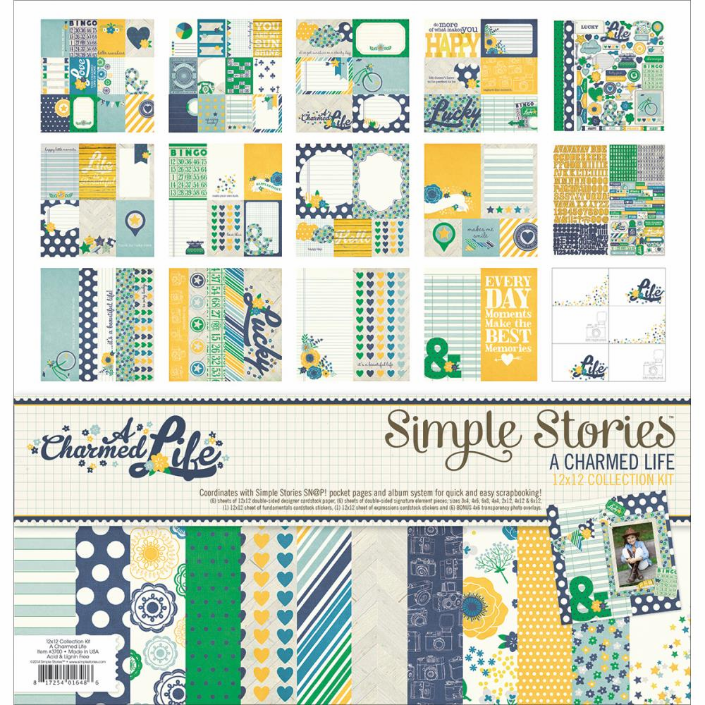 Simple Stories - A Charmed Life - Collection Kit 12x12 (S/O)