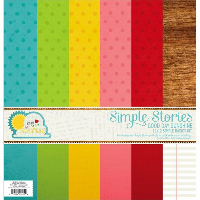 Simple Stories - Good Day Sunshine - Simple Basic Paper Kit 12x12 (S/O)