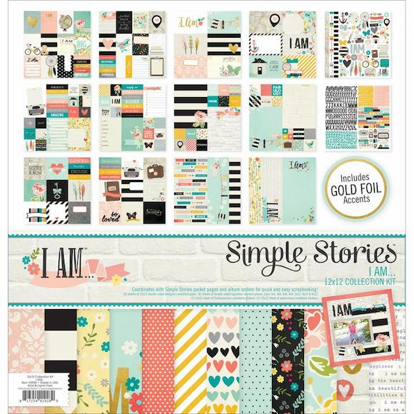 Simple Stories I Am Collection Kit 12x12 - S/O
