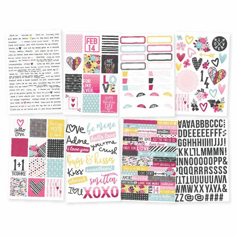 Simple Stories Love & Adore Stickers (E*)