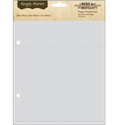 Simple Stories: Mix & Match - Page Protectors Multi Pack 10/Pkg