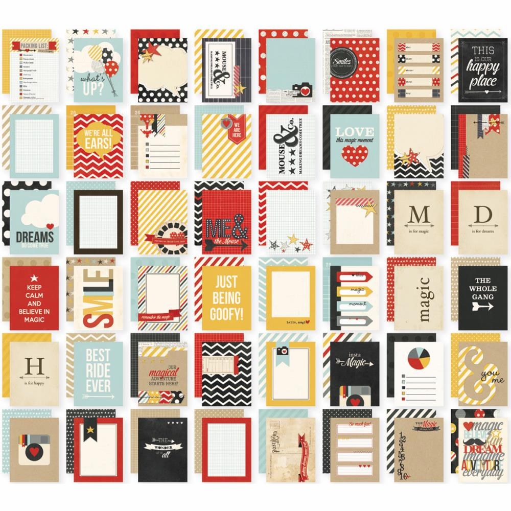 Simple Stories Say Cheese 3X4 Sn@p! Cards Double-Sided 48/Pkg - S/O