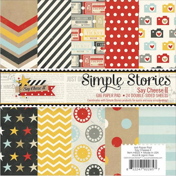 Simple Stories - Say Cheese II - Paper Pad 6x6 (S/O)