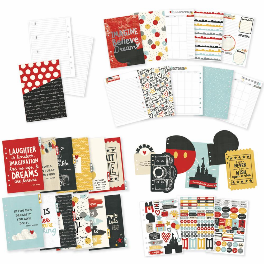 Simple Stories Say Cheese III A5 12 Month Planner Insert Set (E*)