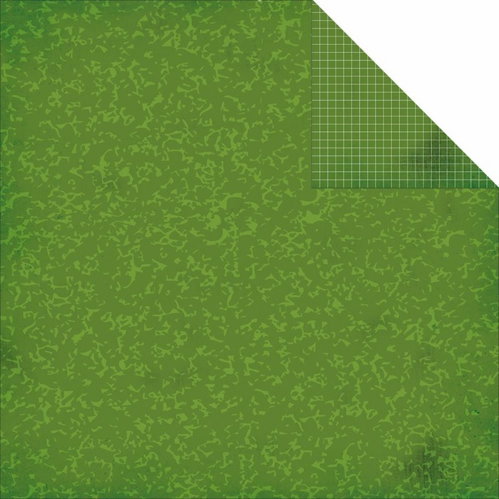 Simple Stories - Smarty Pants - Simple Basic Green Composition/Grid