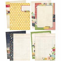Simple Stories: This & That Journal/Scrapbook Pages - Summer Fresh - S/O