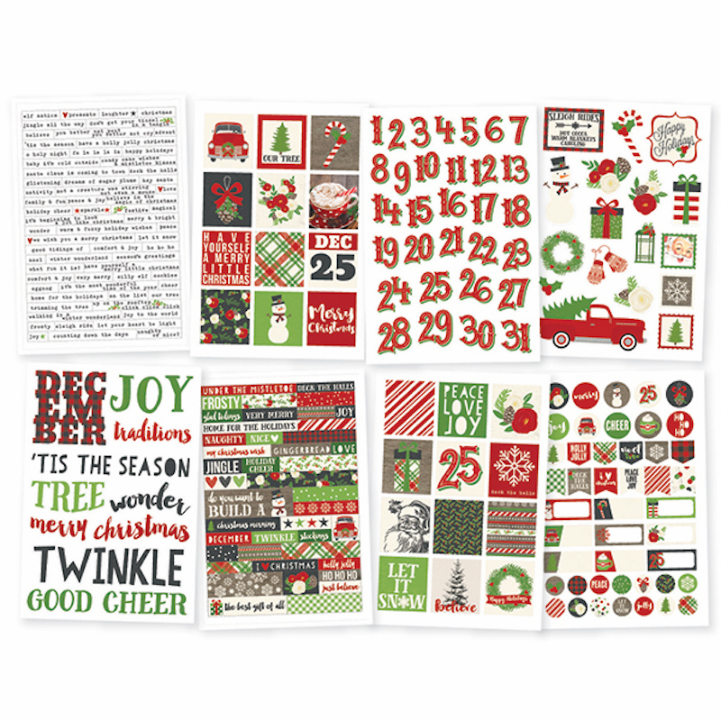 Simple Stories Very Merry Stickers (E)