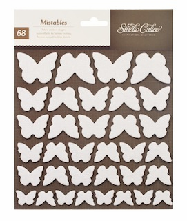 Studio Calico - Heyday - Mistable Shapes Stickers - Butterflies (E)