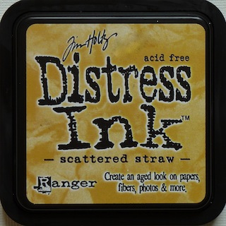 Tim Holtz: Distress Ink Pad - Scattered Straw - S/O