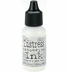 Tim Holtz: Ink Reinker - Clear For Embossing .5 Oz