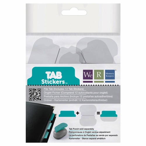 We R Memory Keepers - Tab Stickers - File S/O