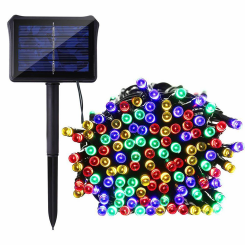 100 Multi-Color LED Solar String Light