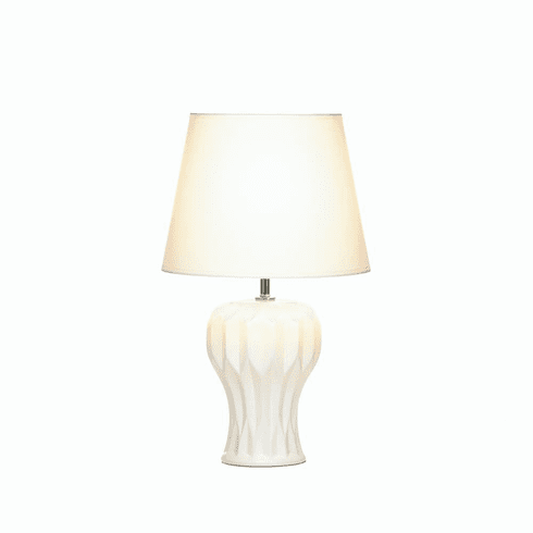 Abstract Curved Table Lamp