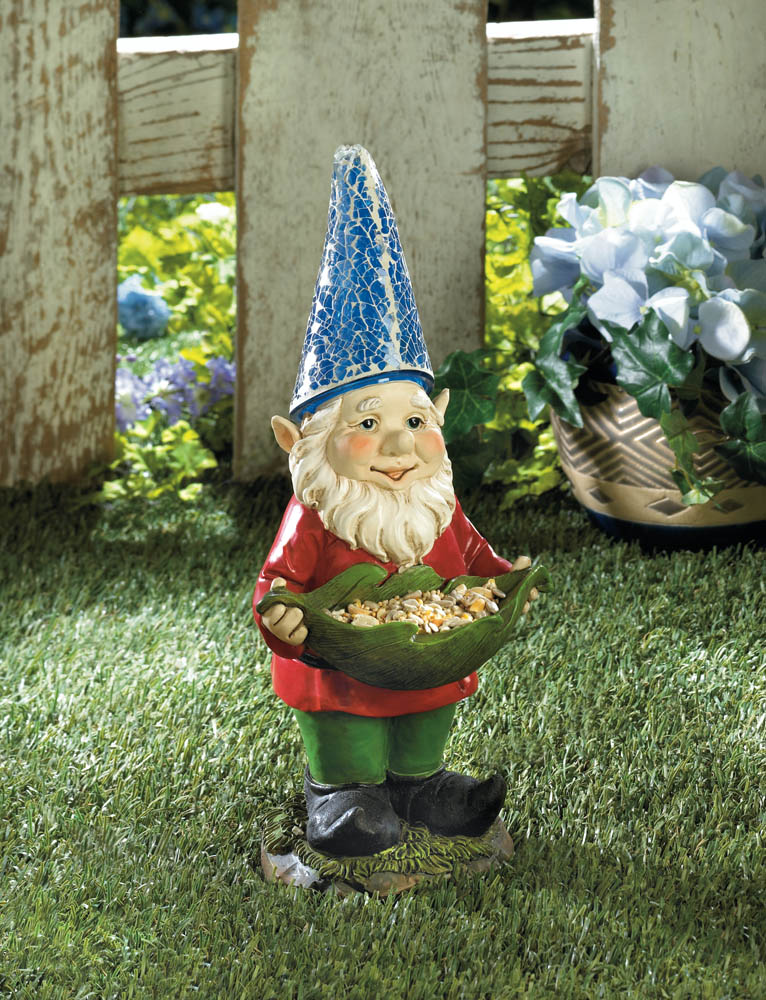 Easter Baskets For Sale: Bird Feeder Gnome Solar Garden Statue Wholesale At Koehler