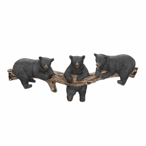 Groovy Black Bear Wall Hooks Download Free Architecture Designs Scobabritishbridgeorg