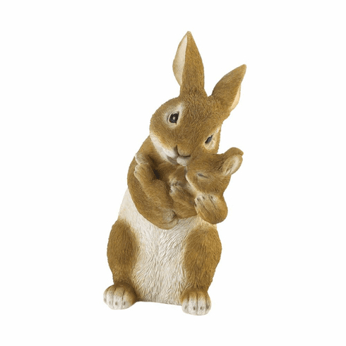 Bonding Time Mom & Baby Rabbit Figurine