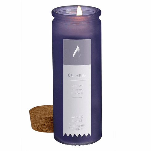Calming Scent Tincture Bottle Candle