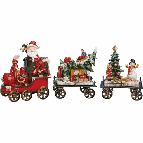 Christmas Train Decoration Set