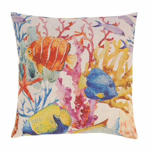 Coral Reef Decorative Pillow
