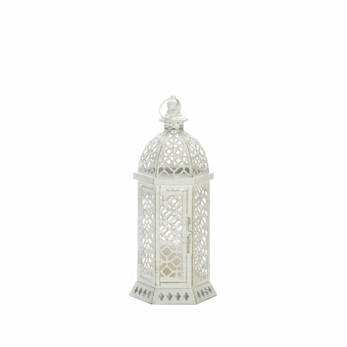 Cutwork Hexagon Lantern
